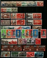 Switzerland 1940/53 collection of sets and singles with ranges of Airs Fe Stamps