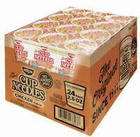 Ramen Cup Noodles Instant 24ct NO MSG 2.5oz CHICKEN/BEEF/SHRIMP FLAVOR 2DAY SHIP