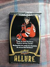 One unopened pack of 2019/20 Upper Deck Allure hockey cards !!