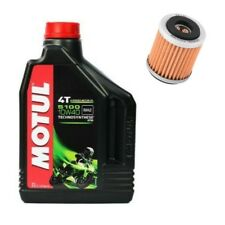 Motul 5100 oil and K&N oil filter service kit motorcycle Yamaha YZ426F 2000-2002