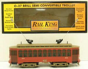 MTH 30-2512-0 Brill Semi-Convertible Trolley Allentown LN/Box