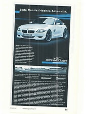 AC SCHNITZER - BMW - ACS4 Sport Coupe    --  advert  - Annonce - Reklame -