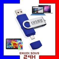 Clé USB 16 Go double usb et micro usb clef USB 2.0 flash drive memory stick 16go