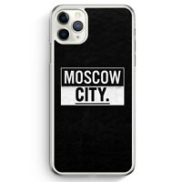 Moscow CITY iPhone 11 Pro Max Hülle Motiv Design Russland Russia Cover Hardca...