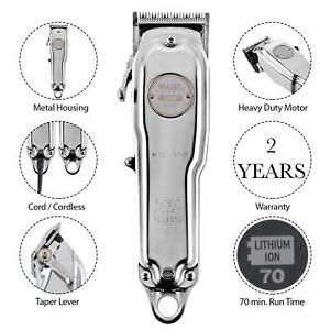 Wahl 81919-024 100 Year Anniversary Clipper,Trimmer Hair removal Shaver (Silver)