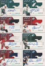 2002-03 SPx Hockey 29 different Rookie RC Lot Jersey AU auto Zetterberg Spezza