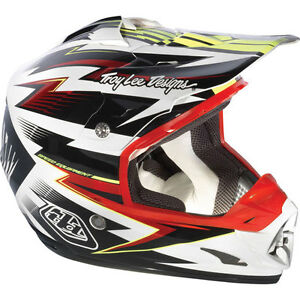 TROY LEE DESIGNS CYCLOPS SE3 MX HELMET OFF-ROAD ATV UTV BMX MTB MEDIUM WAS $495