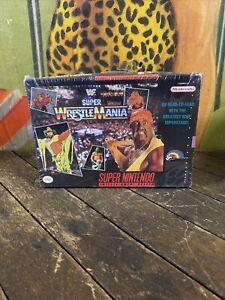 VINTAGE 1991 WWF SUPER WRESTLEMANIA SUPER NINTENDO GAME SNES NES HASBRO LJN WWE
