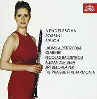 Ludmila Peterková - Music for Clarinet and Orchestra [CD]