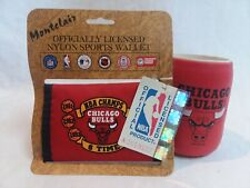 Chicago Bulls Red Koozie & Red Wallet NWT (A1)