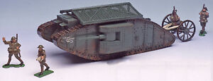 Britain's Vintage Toy Soldiers #8946 British Mark I Tank - mint boxed set