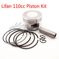 Piston Pin Ring Set 52mm 13mm For Lifan 110cc ATV Pit Dirt Trail Bike Motorcycle