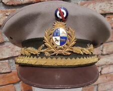 WW II URUGUAYAN ARMY COMMANDER IN CHIEF INSPECTOR GENERAL EJERCITO CAP HAT RARE