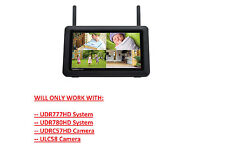 """Uniden 7"""" Replacement LCD Monitor for UDR777HD, UDR780HD & UDRC57HD, ULC58 CAMs"""