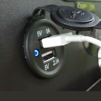 Golf Cart Phone USB Charger Dual Ports 1A 2.1A