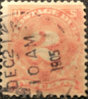 Scott #J60 US 1905 Two Cents Postage Due Stamp VF LH
