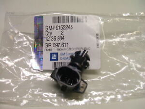 original Opel Temperaturfühler Sensor Luft 1236284 Temperatursensor Neu
