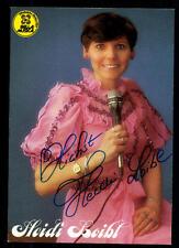 Heidi Loibl Autogrammkarte Original Signiert ## BC 48570