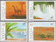 Angola 850-853 (compleet Kwestie) MNH 1991 Toerisme