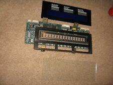 ROWE AMI CD JUKEBOX DIGITAL DISPLAY ASSEMBLY BOARD #40832301 WITH GLASS & CARD
