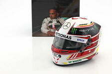 Lewis Hamilton World Champion 2018 Mercedes GP Bell 1:2 Helmet New