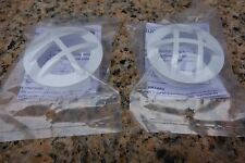 """Hayward 1 1/2"""" Pool Wall Inlet Safety Grate Insert Fitting SP1026 Set Of 2 [487]"""