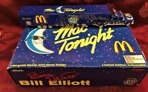 BILL ELLIOTT #94 McDonald's Mac Tonight 1/64 Ford Dually and Chaparell 1 of 3500