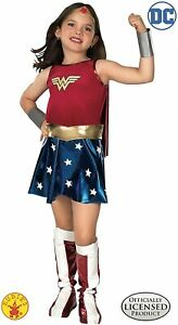 Rubie's Official Wonder Woman Fancy Dress Costume Children's 147 cm Large 8-10