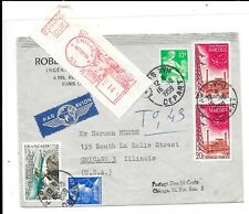 FRANCE 1959 POSTAGE DUE COVER TO USA