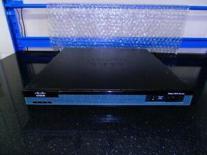 Cisco 2901 IS Router Cisco2901/K9  ipbasek9 License + HWIC-16A