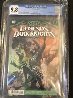 Death Metal Legends of Dark Knights #1 CGC 9.8 1st App Robin King DC Comics 2020
