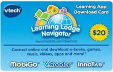 NEW TWO (2) VTech Learning App Download $20Gift Card $40 Value