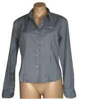 BEN SHERMAN WOMEN'S SIZE 12 COTTON BLEND FITTED SHIRT