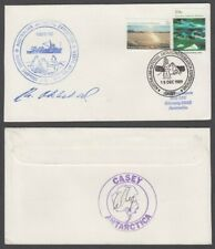 AUSTRALIA ANTARCTIC TERRITORY 1989 COVER EXPEDITION SIGNED (ID:103/D46)