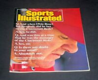 SPORTS ILLUSTRATED JULY 3 1989 PETE ROSE