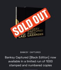 Banksy Captured by Steve Lazarides (Black Edition of 1000) - Brand New!