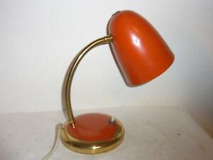 Tolle 50er 60er Tisch Lampe Leuchte Desk Lamp Mid Century #<