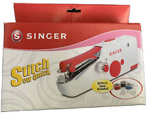 Singer Stitch Sew Quick Small Portable Hand Held Sewing Machine Compact Travel