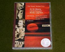 SUPER GUITAR TRIO AL DI MEOLA LARRY CORYELL BIRELI LAGRENE TDK DVD LIVE 1990 New