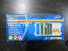 NEW Leviton 47606-AHT Multi-Use Adv CAT5e Telephone Video Panel 2GHz Coax Cable