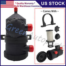 Pro 200 Vent Oil Separator Catch Can For Ford Patrol Turbo A6I7 Universal