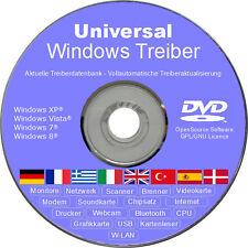 Universal PC Laptop und Notebook Treiber DVD Windows XP Vista 7 8 für 32/64 bit
