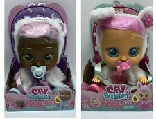 NEW Cry Babies Dressy Pearly & Dressy Coney Interactive Baby Dolls
