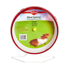 Hamster Silent Spinner 10 inch Exercise Wheel Colors Vary
