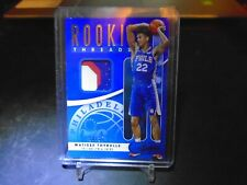 2019-20 PANINI ABSOLUTE ROOKIE THREADS MATISSE THYBULLE 3 COLOR /25 SIXERS !