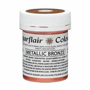 Sugarflair Concentrated Chocolate Food Colouring / Paint (for Chocolate) 35g