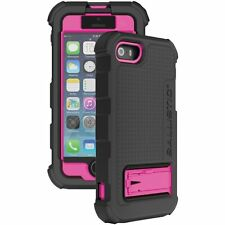Ballistic Hard Core Series Case for iPhone 5 - Black/Hot Pink