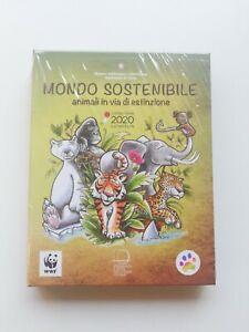 5 euro Tigre 2020 - Italia - Mondo Sostenibile - Italy Tiger 2020 Proof BE PP FS