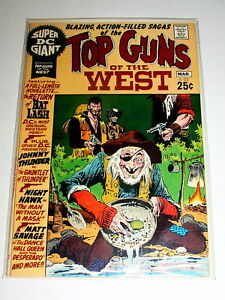 Super DC Giant #S-22  TOP GUNS OF THE WEST   68 PGS  BRONZE DC. FN -March 1971