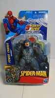 Spiderman Power Charge Rhino action figure 3.75 in Hasbro SEALED MOC